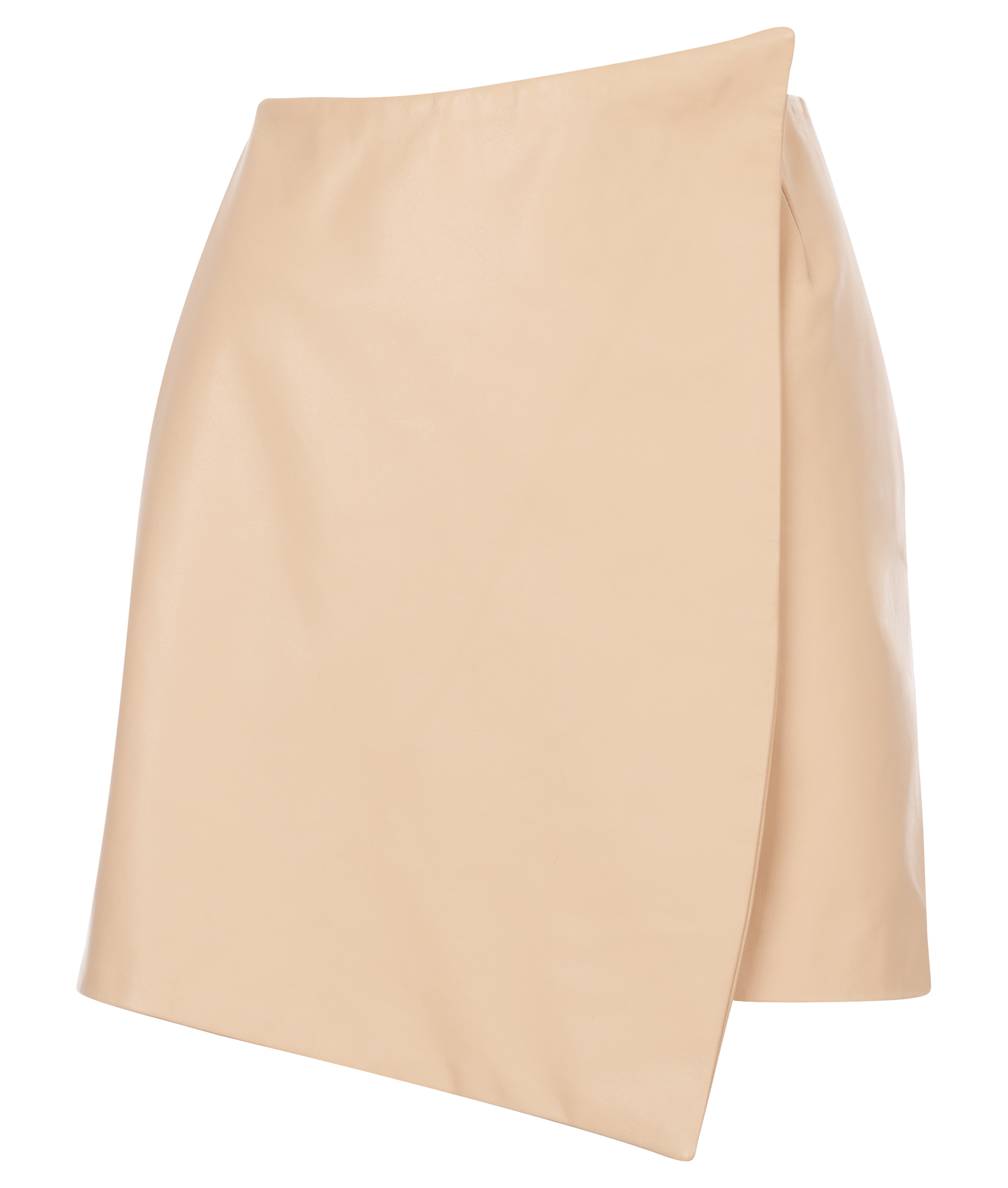 THE LEATHER ENVELOPE SKIRT - Girl a la Mode