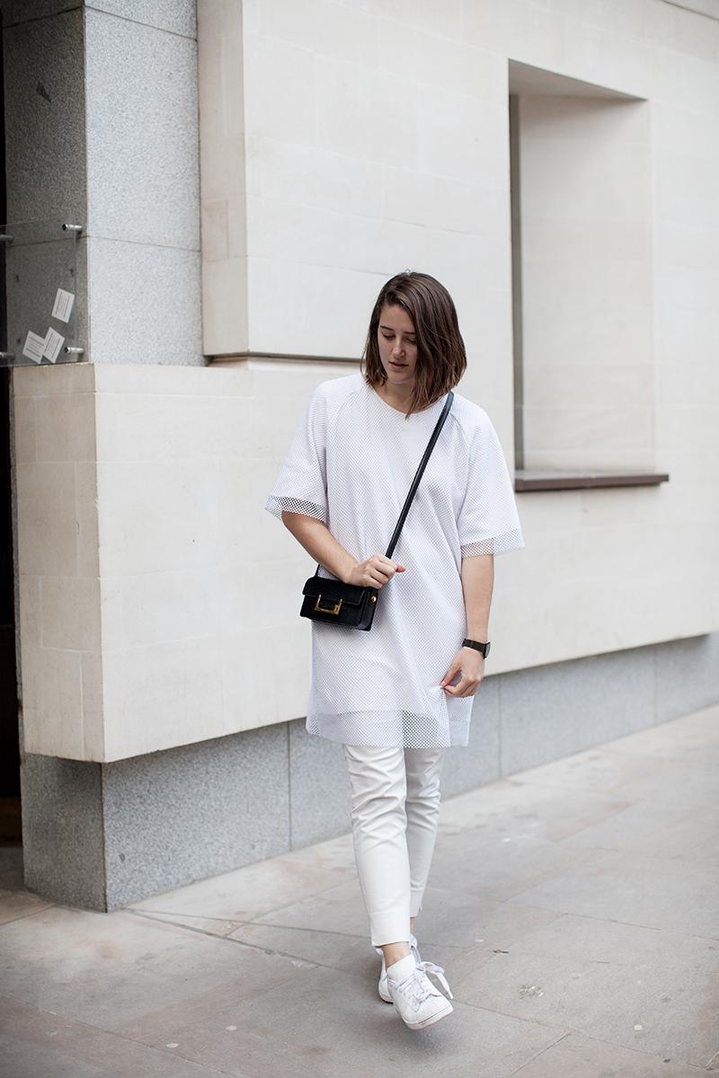 sale retailer 59baf 5b646 All white errthang   Girl a la Mode