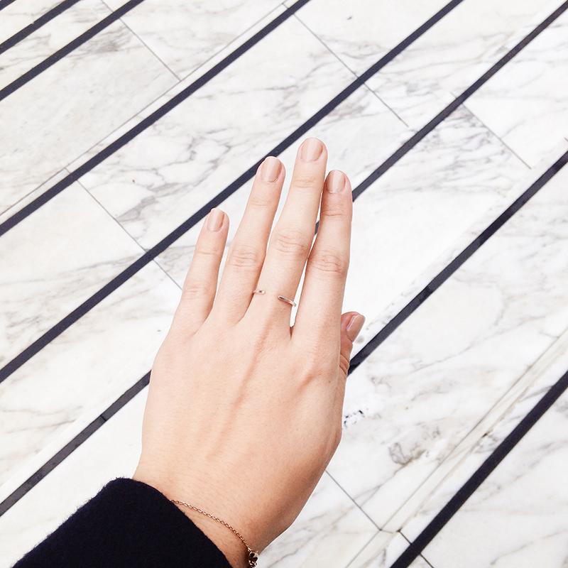 nude christian louboutin nails