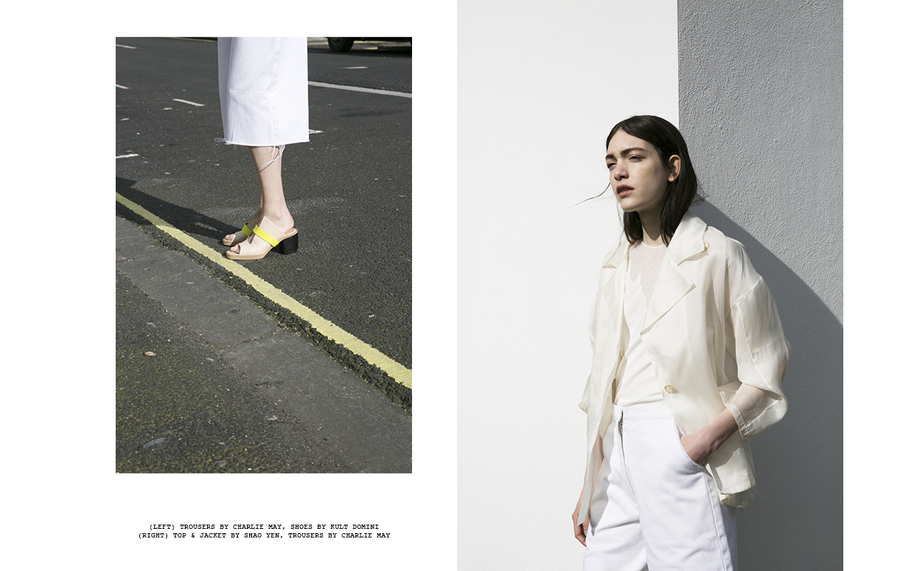 Charlie May in Tank Magazine