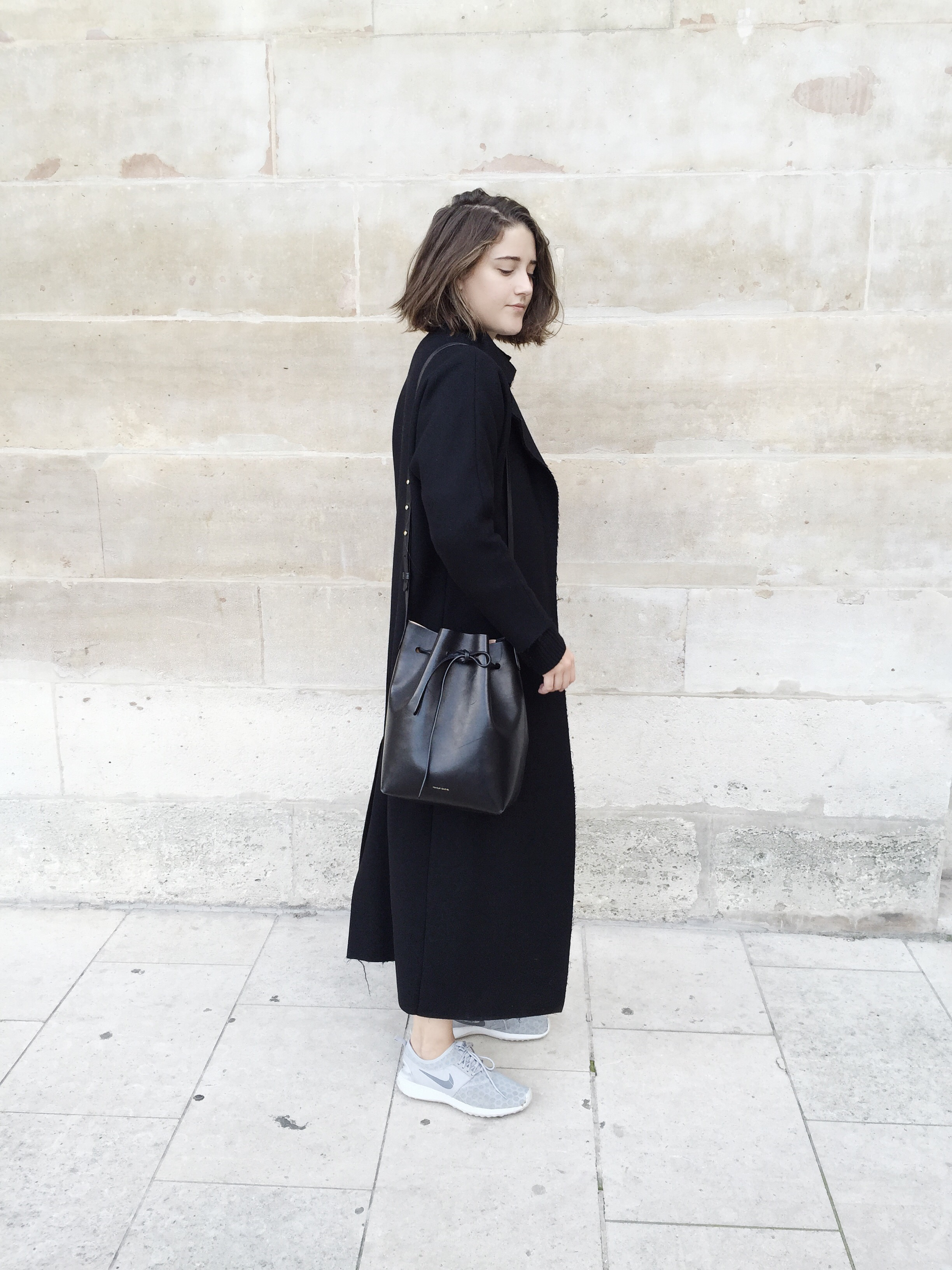 Charlie May wearing Mansur Gavriel