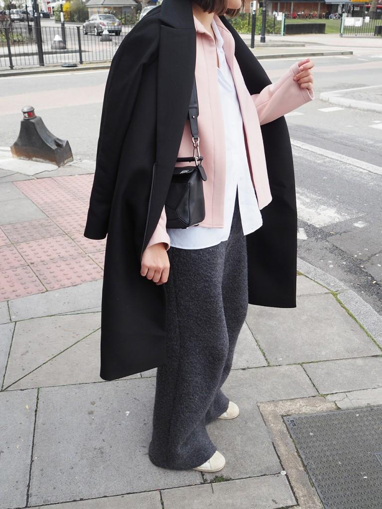 Charlie May Pink Jacket Alpaca pants