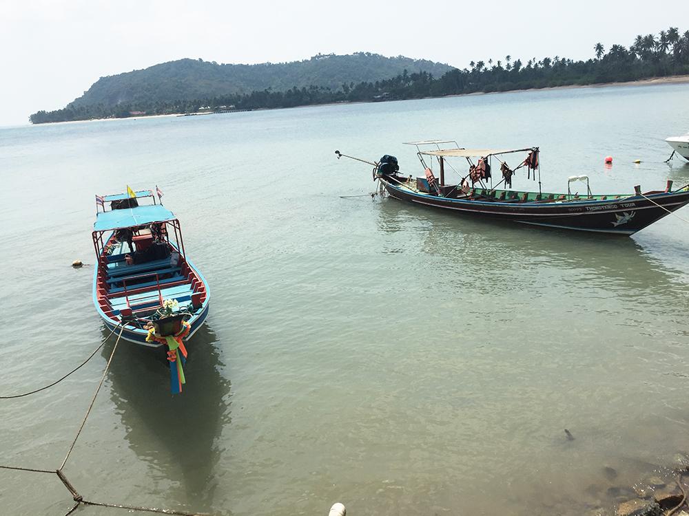 Conrad Koh Samui boats