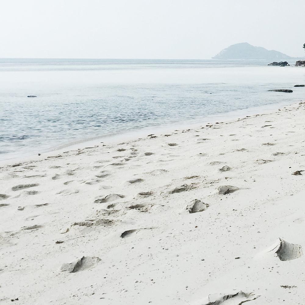 Conrad Koh Samui sand