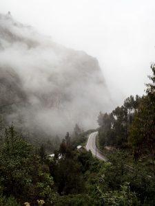 Peru-the-winding-road