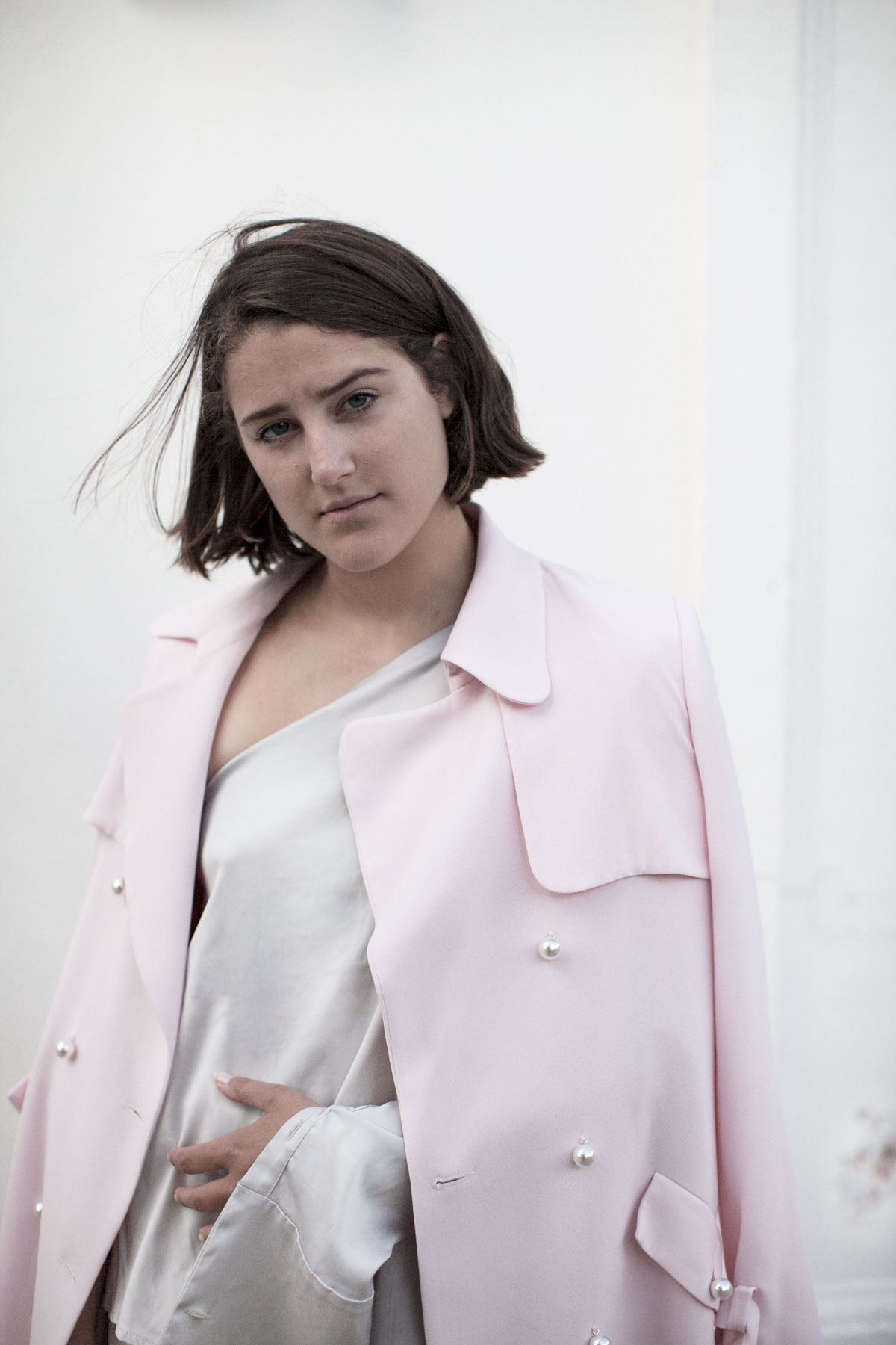 claudie-pierlot-pink-trench-harrods-charlie-may-girl-a-la-mode-3