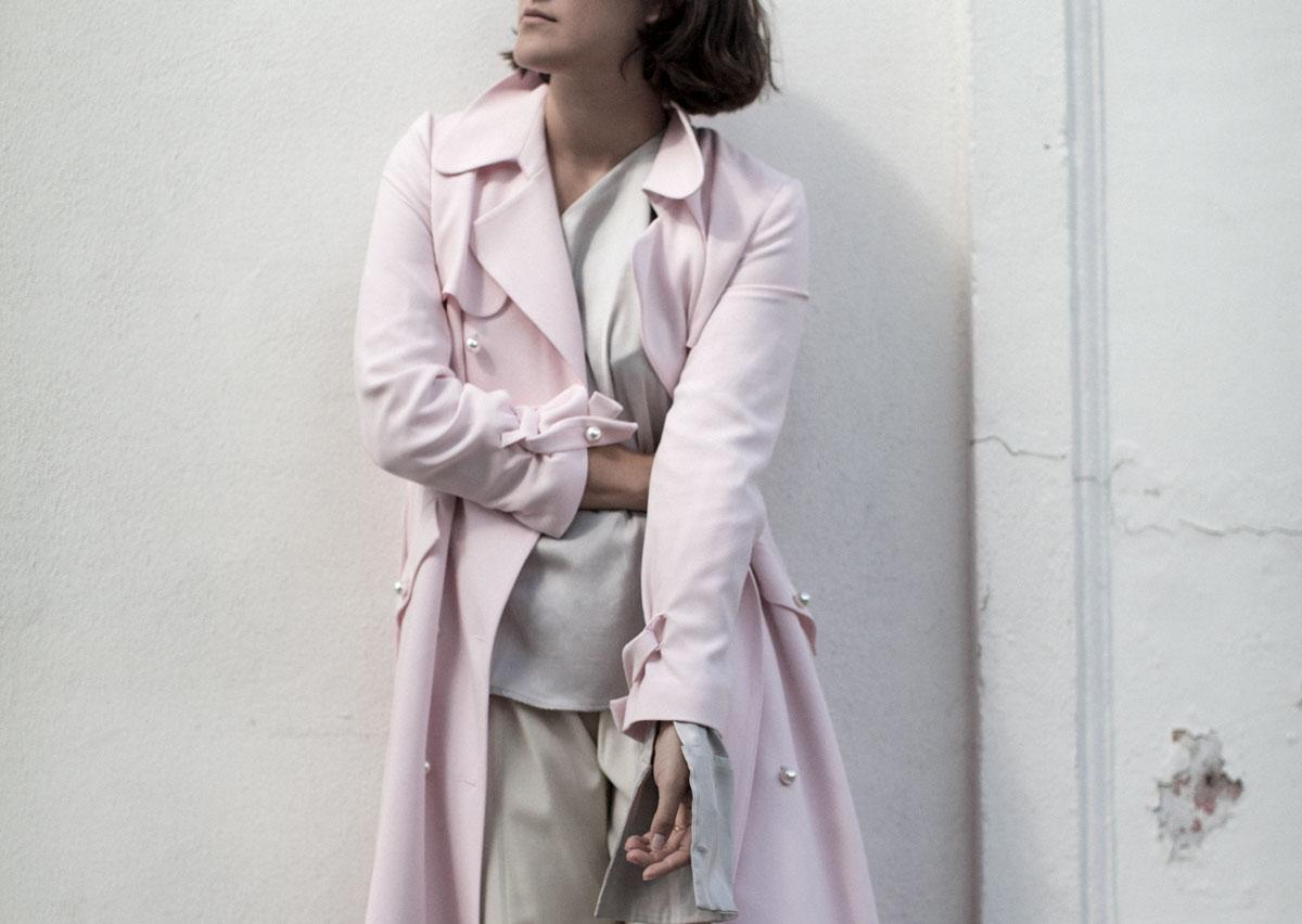 claudie-pierlot-pink-trench-harrods-girl-a-la-mode-3