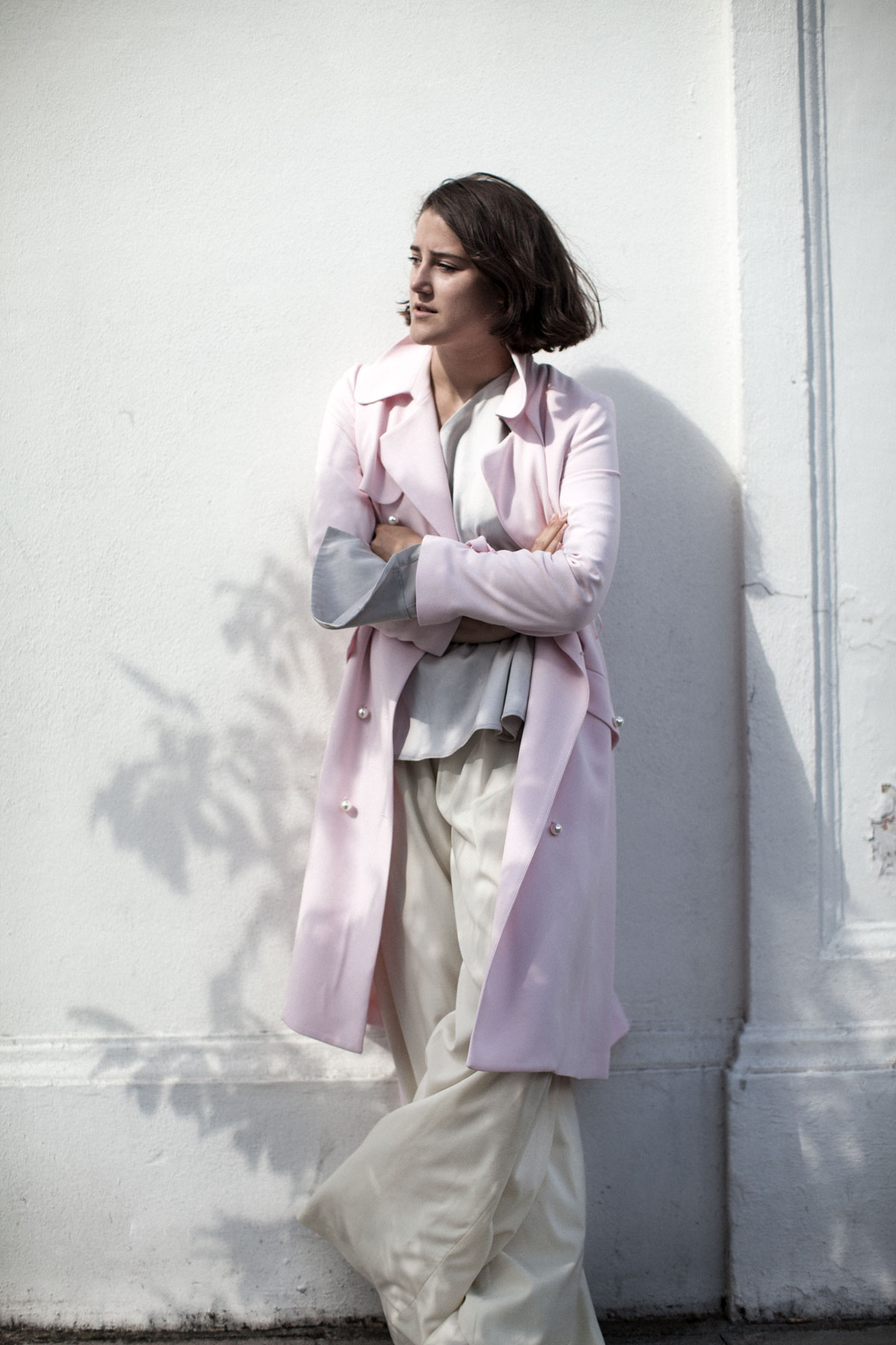 claudie-pierlot-pink-trench-harrods-girl-a-la-mode